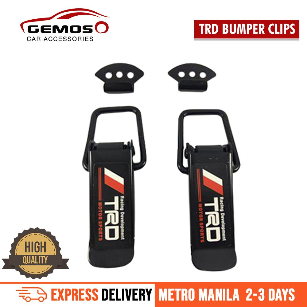 Trd Quick Release Bumper Clip For Toyota Cars By Gemos Car Accessories.