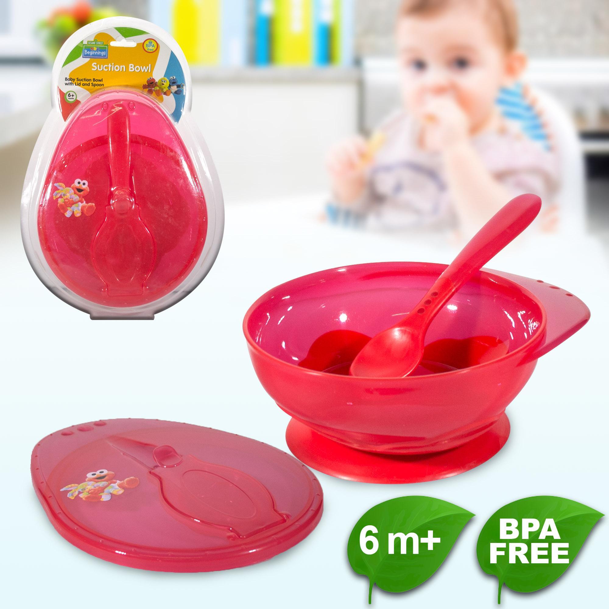 BPA FREE Sesame Beginnings Suction Bowl