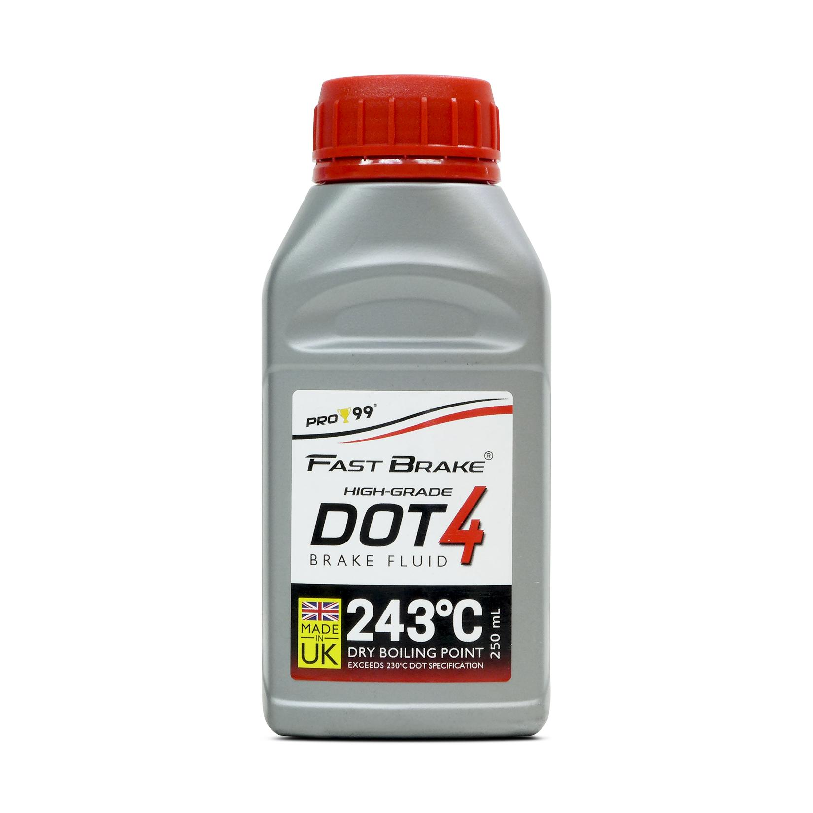 Pro-99 Fastbrake High-Grade Dot-4 Brake Fluid 250ml Pbf4-8190-250 By Road-Fit Automotive Products.