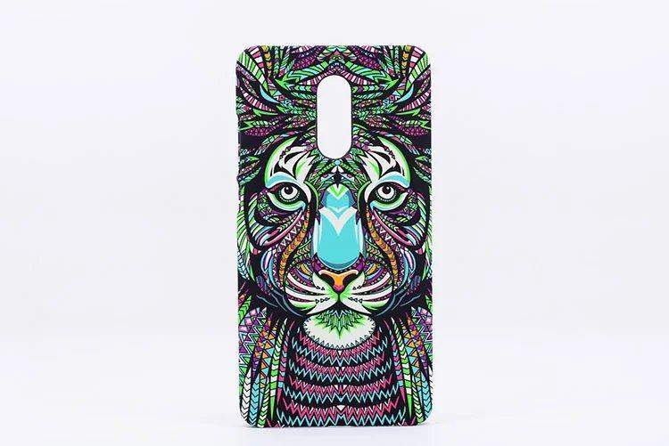 Luxo Forest of King for Xiaomi Redmi 5 Phone Case Redmi 5 plus Animal Dull Polish