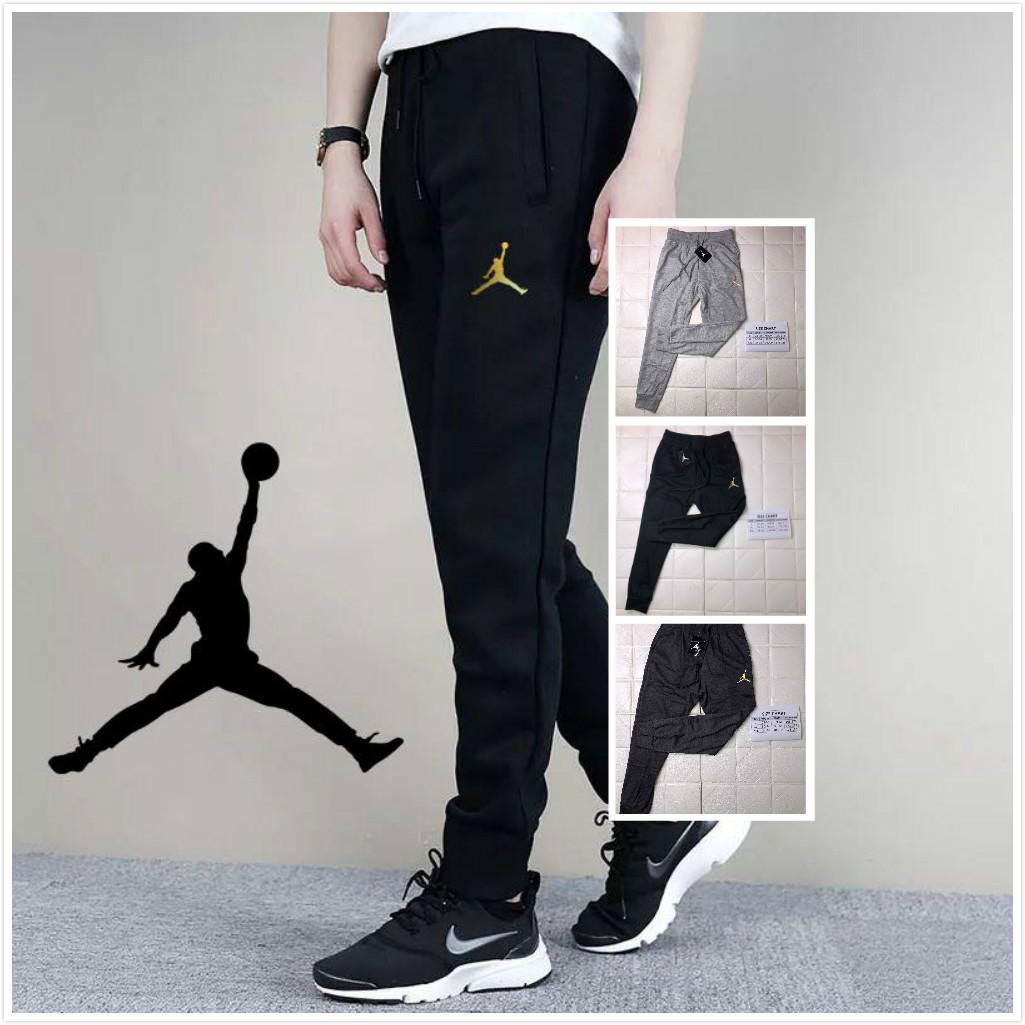 fashion jogger pants unisex men women 2 pockets Jordan