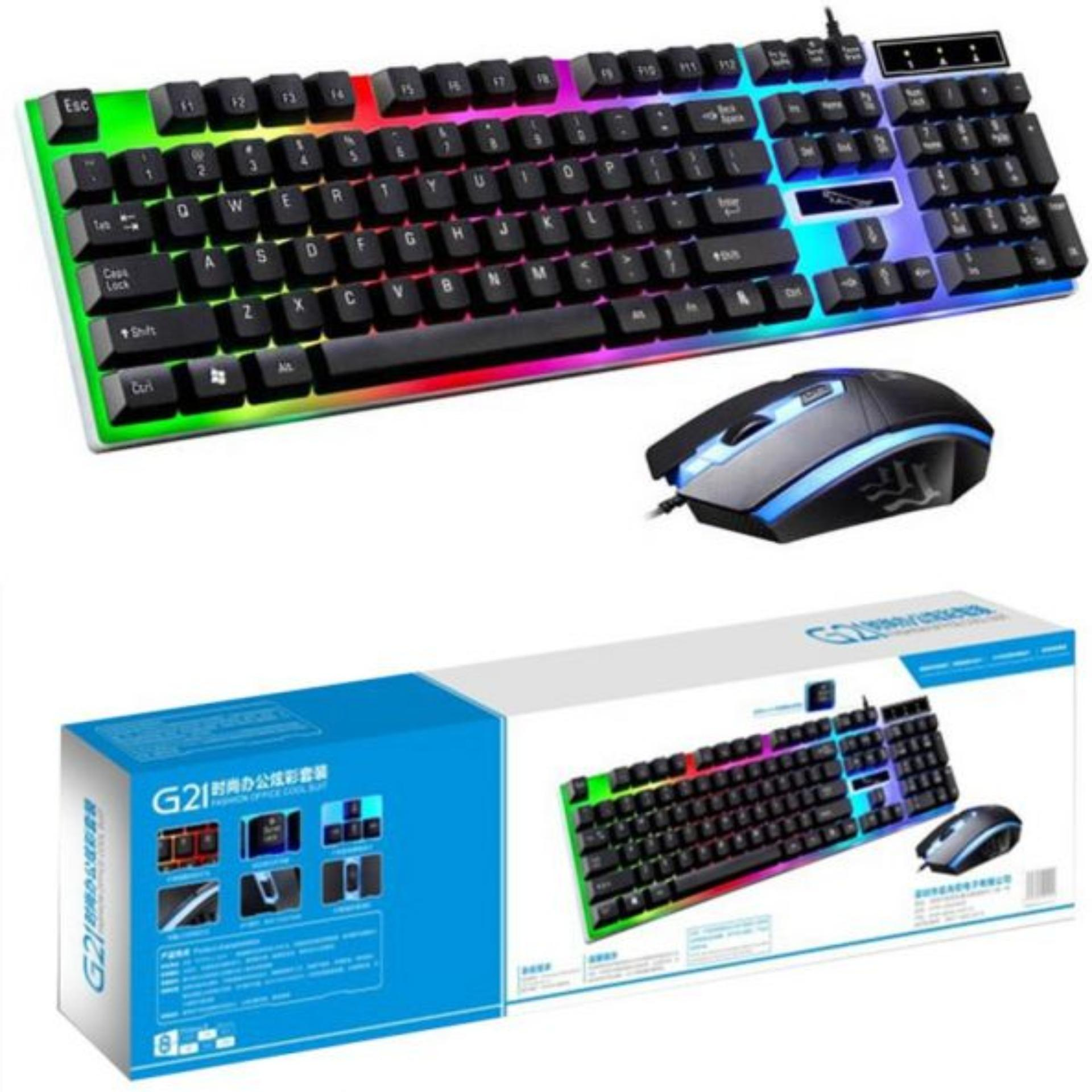 Gaming Keyboards For Sale Prices Brands Keybiard Warwolf Led Keyboard W Mouse