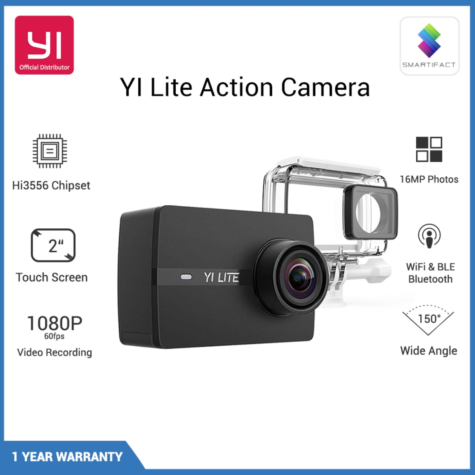 YI Lite Action Camera Black 16MP Real 4K Sports Camera with Built-in WIFI 2