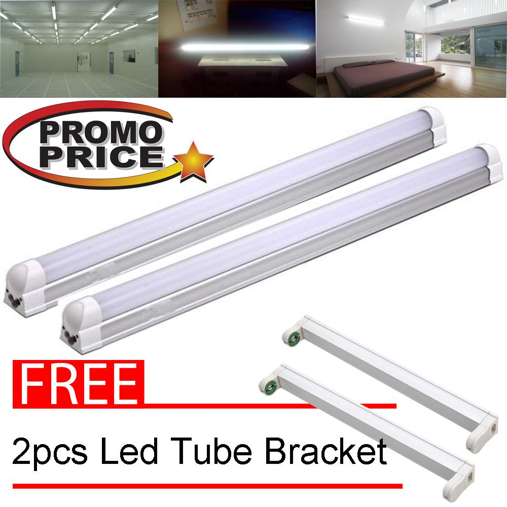 Light Bulbs For Sale Led Prices Brands Review In Easy 6v Fluorescent Ave Circuits Nsl Integrated T8 Tube 8w White Set Of 2 06 Meter