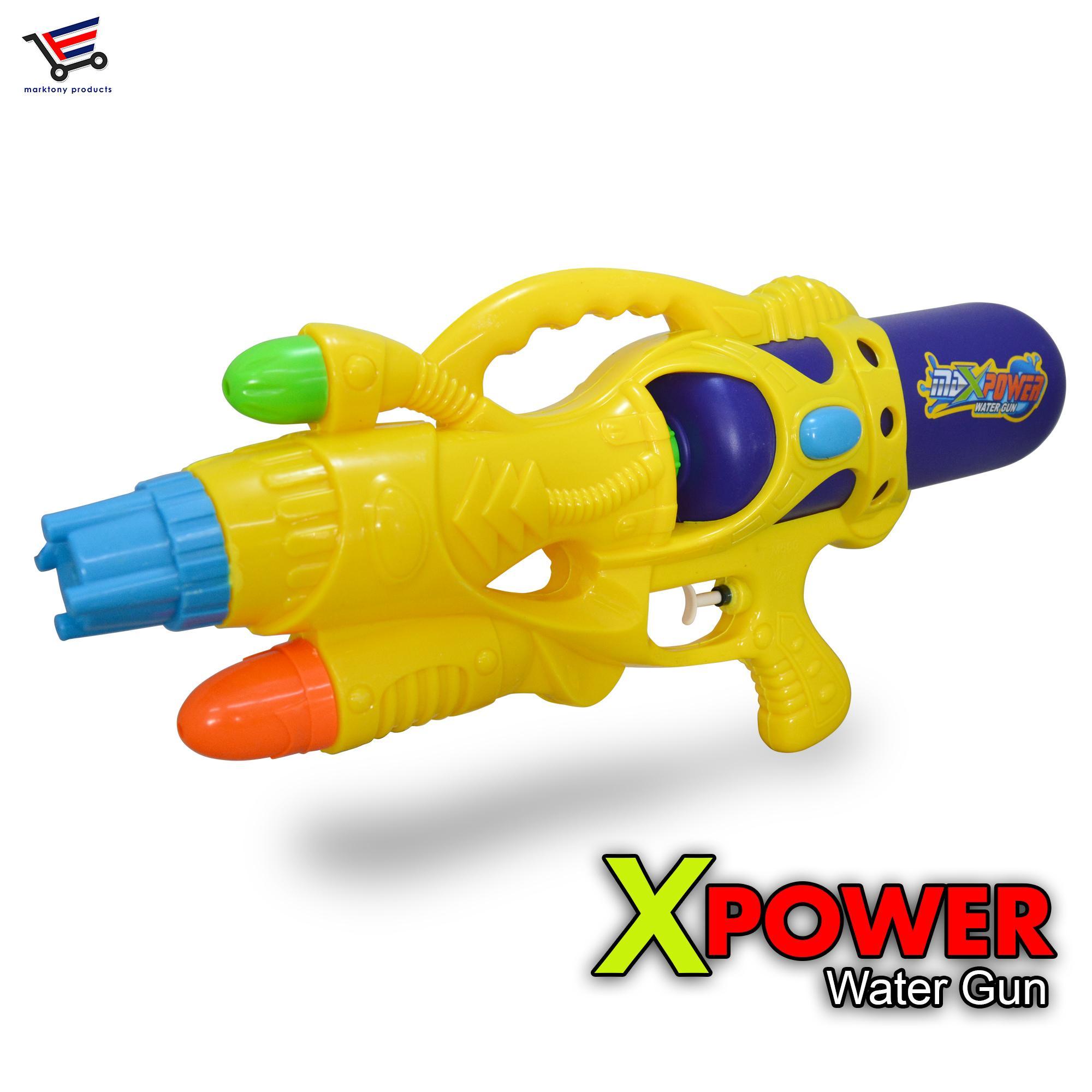 Xpower Far Range Water Gun Blaster Yellow
