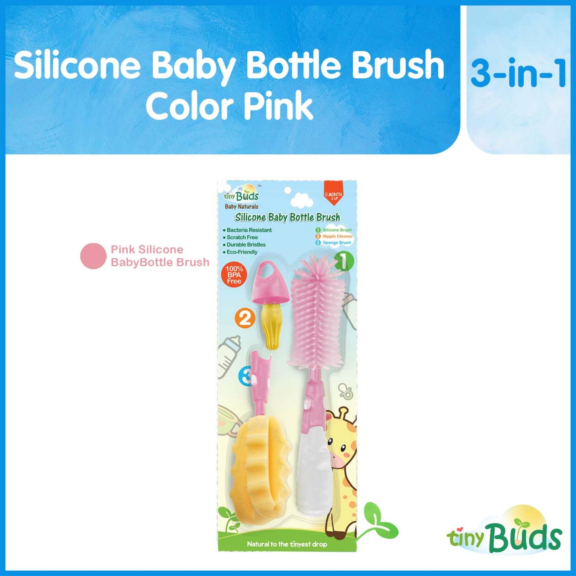 Buy Sell Cheapest 360do Brush Baby Best Quality Product Deals Tooth For Adults Pink Tiny Buds Non Scratch Silicone Bottle