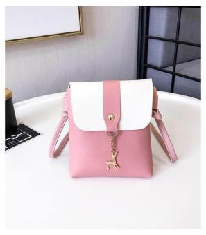 XUEBAMI Fawn charm Mini Leather Sling Bag