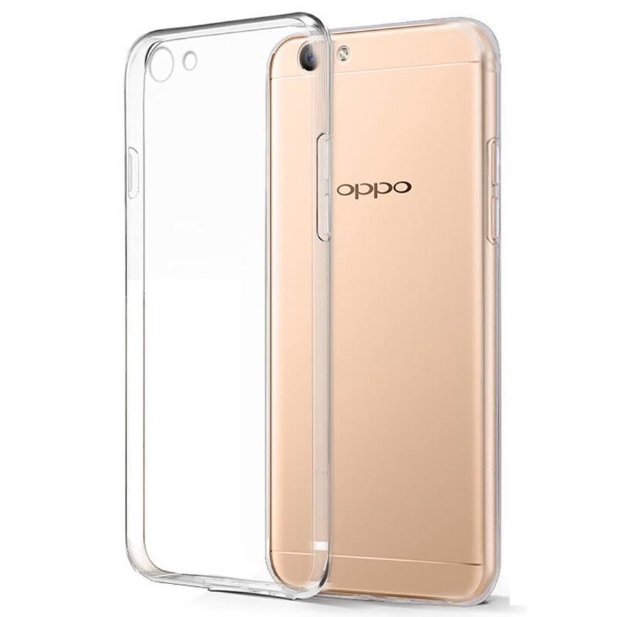 Buy Sell Cheapest Oppo A71 Ultra Best Quality Product Deals Case Jelly Thin Crystal Clear Hybrid Silicone