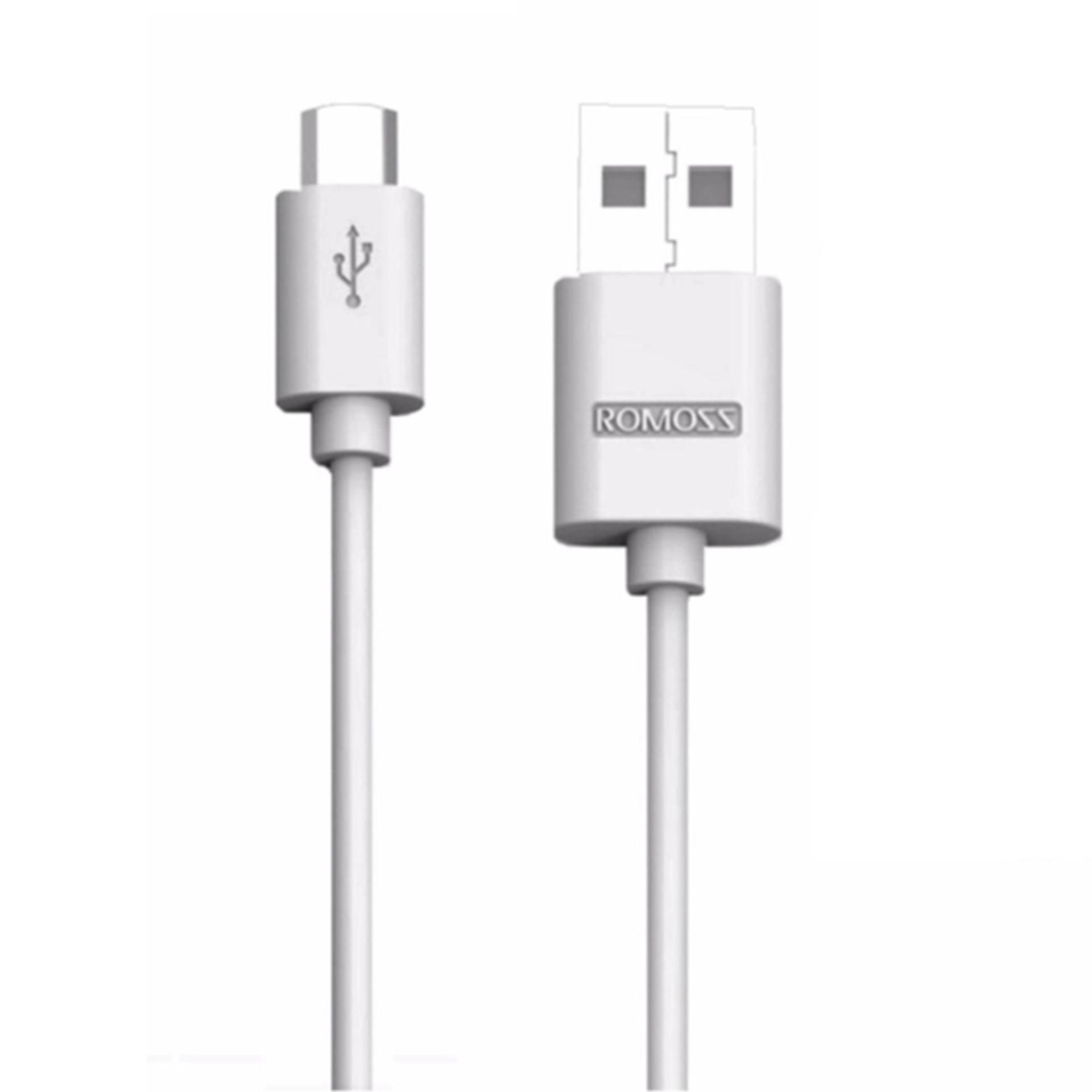 Phone Cables For Sale Connectors Prices Brands Specs In Micro Usb Charger Wiring Romoss Cb05 1m Data Sync Charging Cable Android Smartphones White
