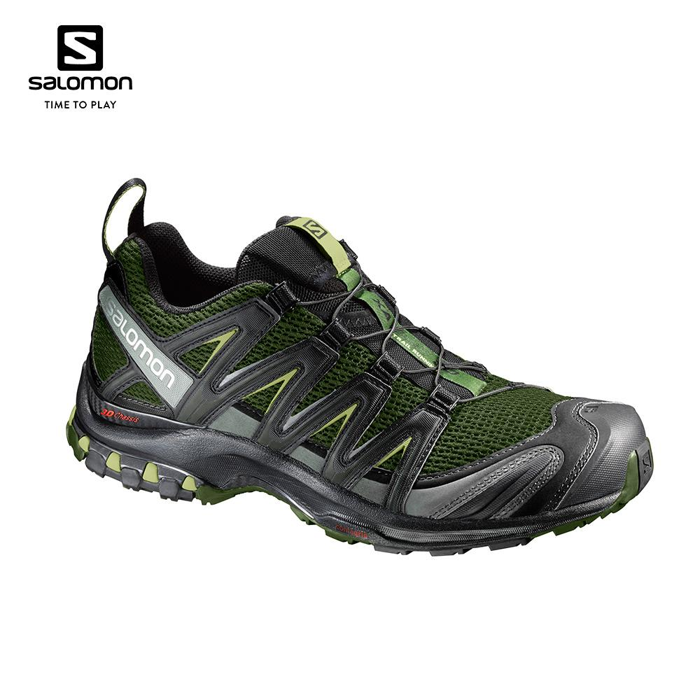 Salomon XA PRO 3D Men's Running Shoes (Chive/Black/Beluga) 392519