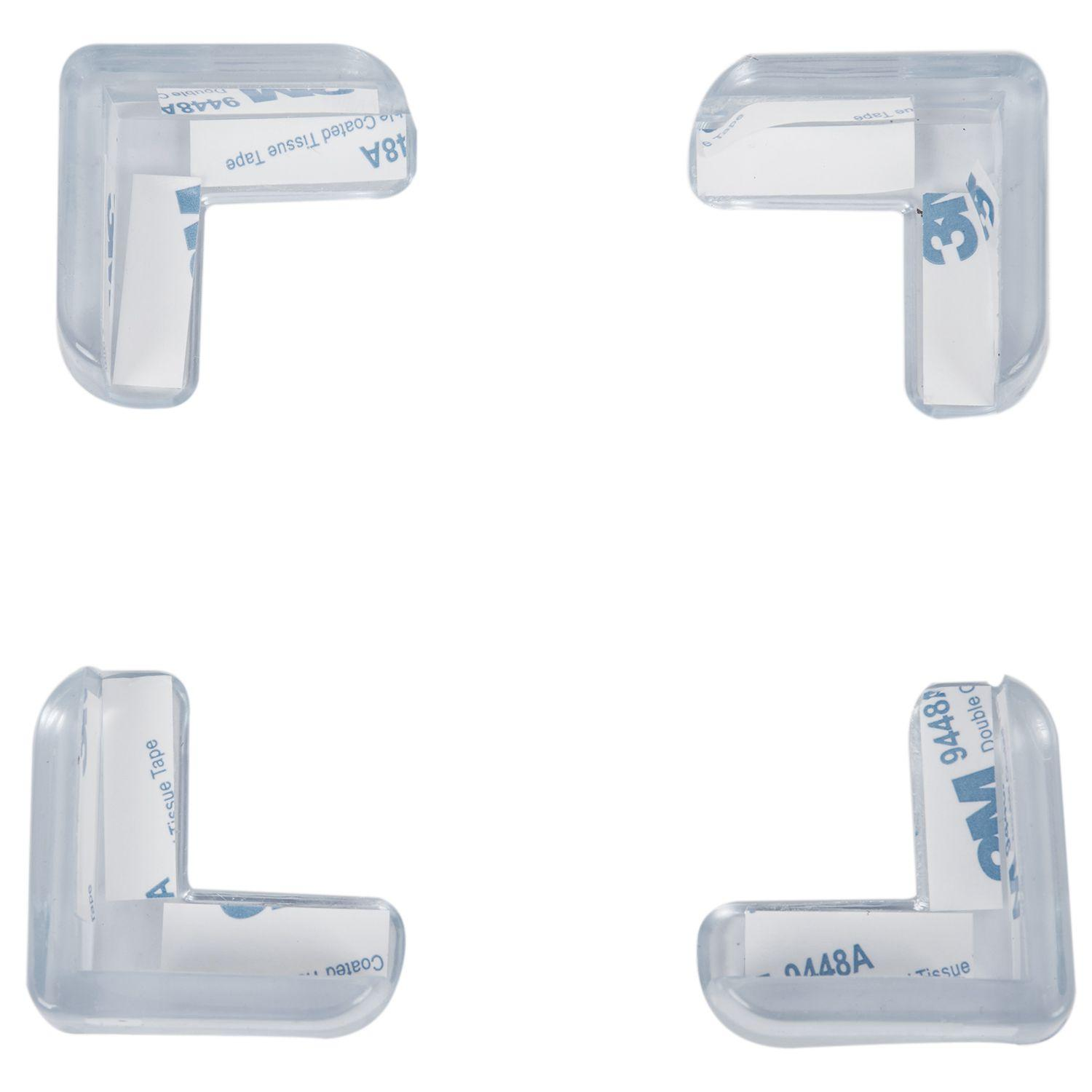4 Pieces Clear Safety Soft Plastic Table Desk Corner Guard Protector By Sunnny2015.