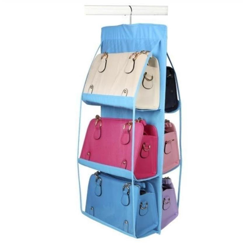 Ourhome Korean Shoes Pouch Traveling Organizer WIKIPRICE Source · 6 Pocket Hanging Bag Organizer Multifunction Clear