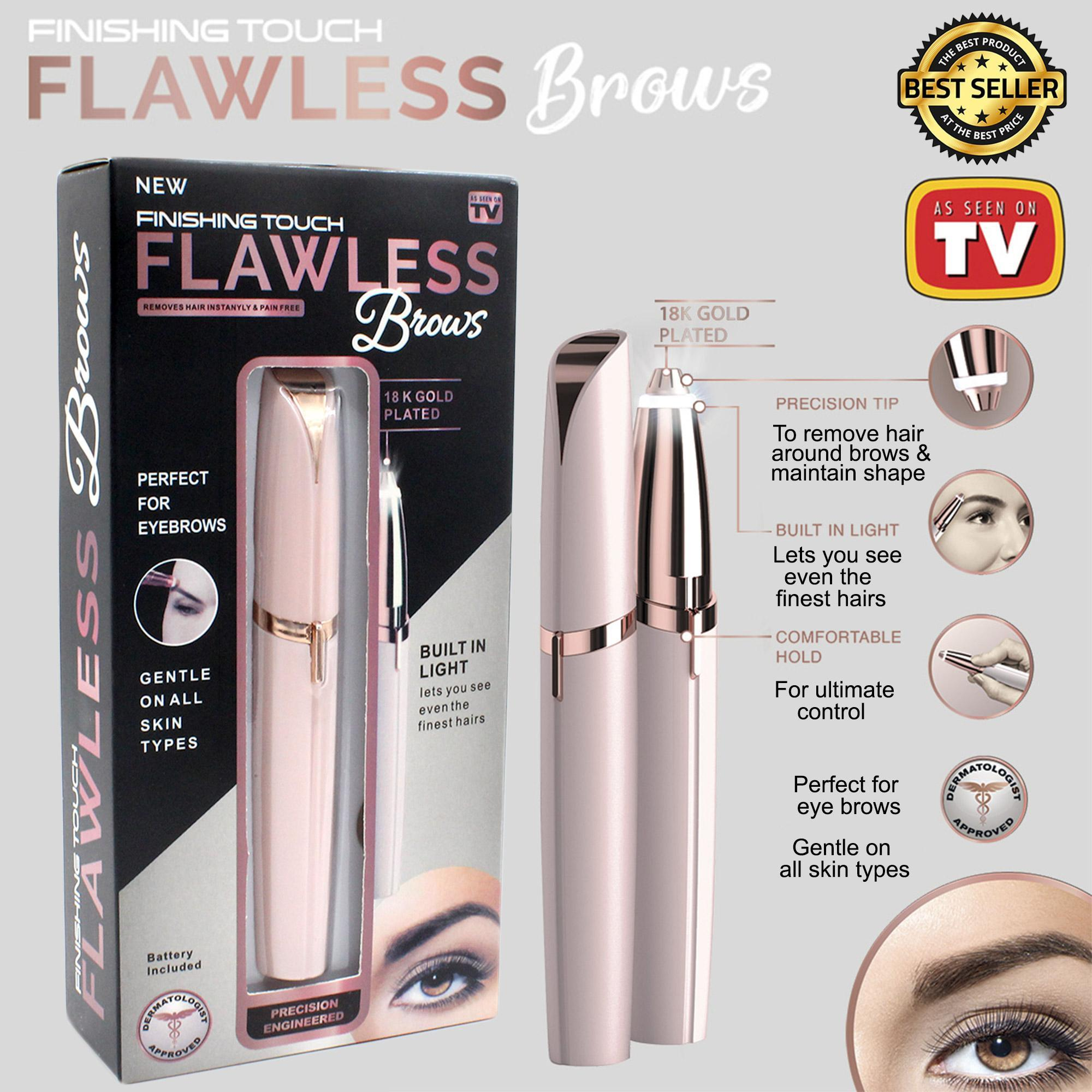 Flawless Brows Eyebrow Hair Remover, Blush by Finishing A Touch by JUST4U Philippines