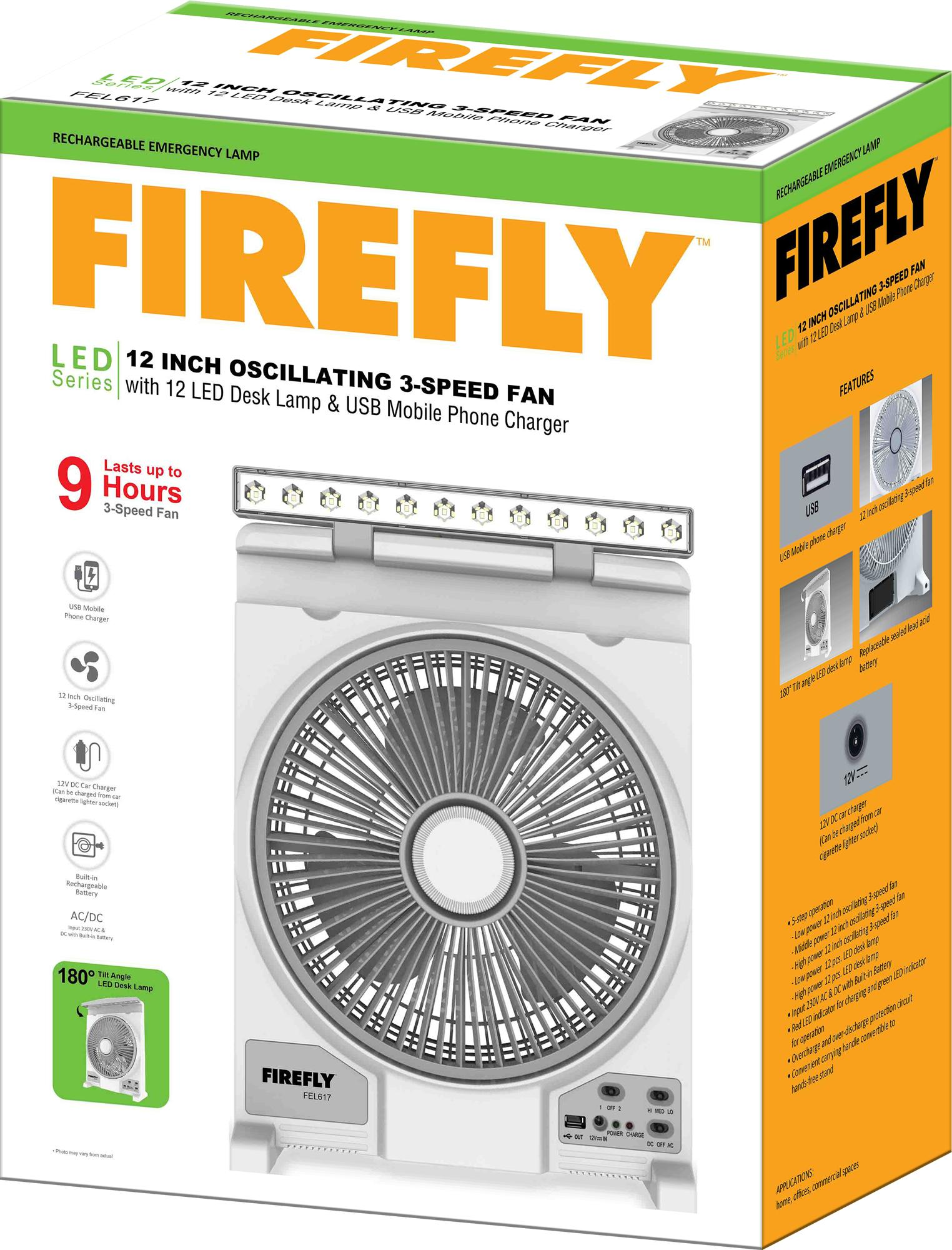 Firefly Philippines Price List Led Bulbs Hid Fixture Photocell Wiring Diagram 12 Oscillating 3 Speed Fan With Desk Lamp Usb Mobile Phone
