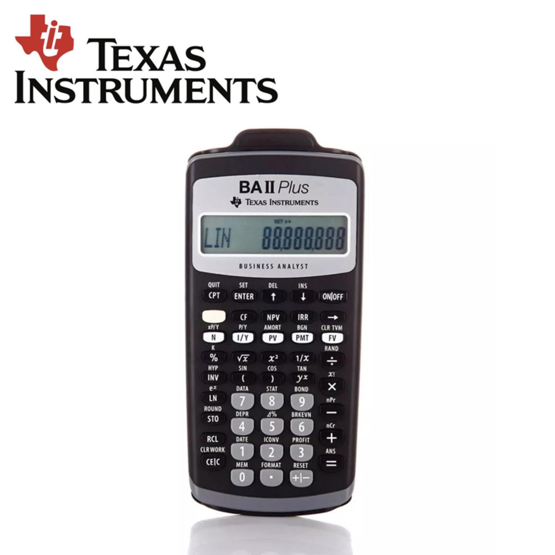 Texas Instruments BA II plus Financial calculator for CFA
