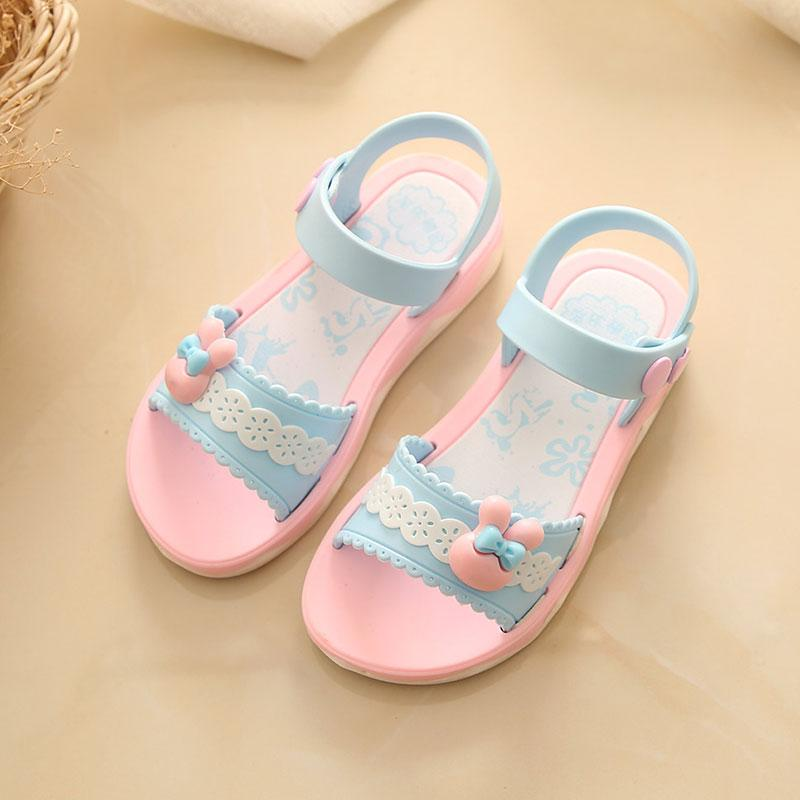e3f1ae8f67a55 girl women Sandals 2018 New Style Korean Style Children Summer Baby Sandals  women Children s Shoes Kids