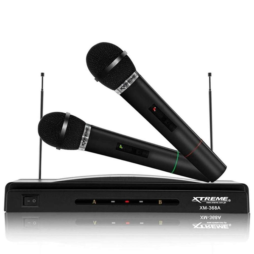 Wireless Mic For Sale Microphone Prices Brands Specs Q9 Bluetooth Karaoke Player Xtreme Xm 368a Professional Dual Black