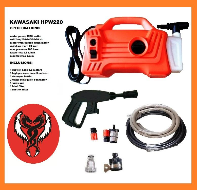 Kawasaki Portable Pressure washer HPW-220 Philippines