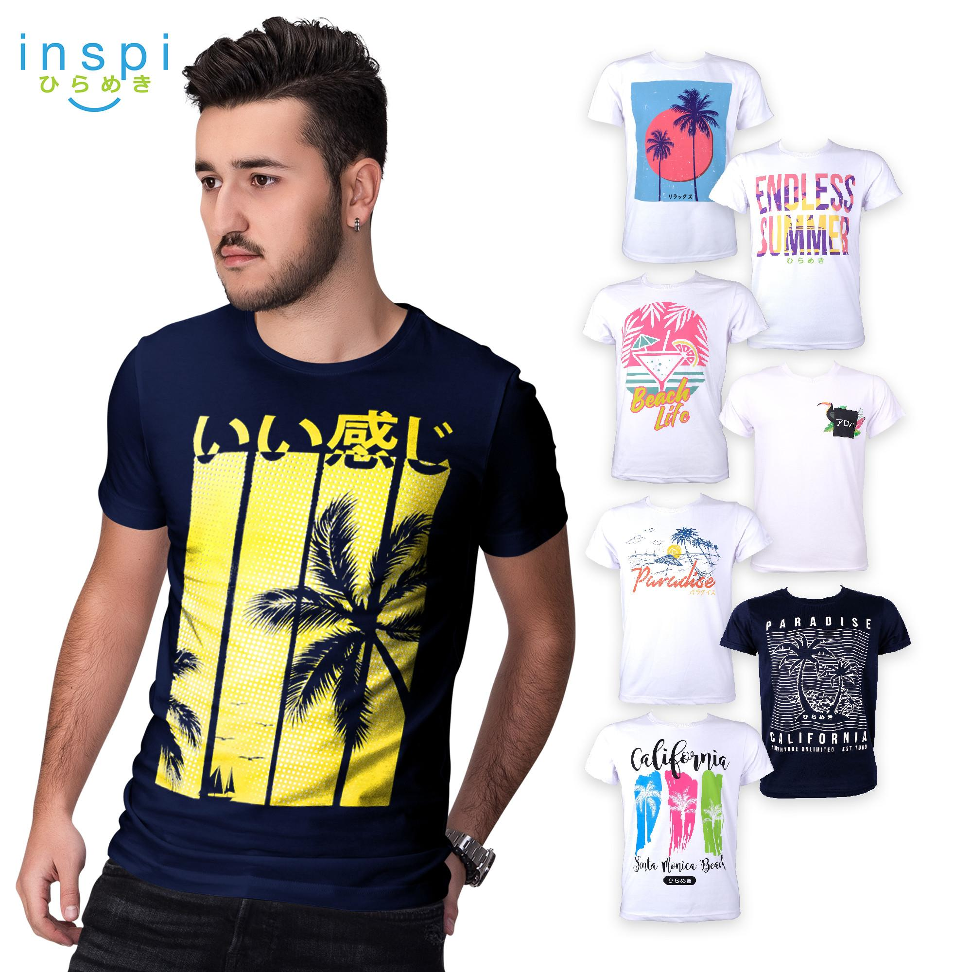 cf8e74c194e INSPI Tees Summer Collection tshirt printed graphic tee Mens t shirt shirts  for men tshirts sale