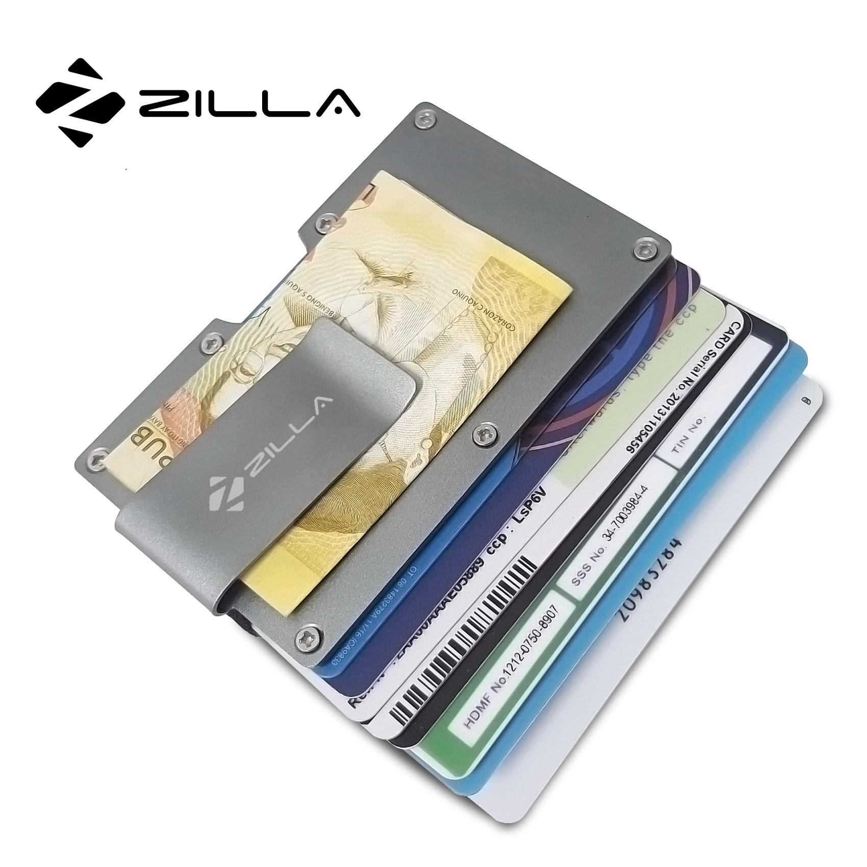 Money clip for sale mens money clips online brands prices zilla metal card holder with money clip gray reheart Images