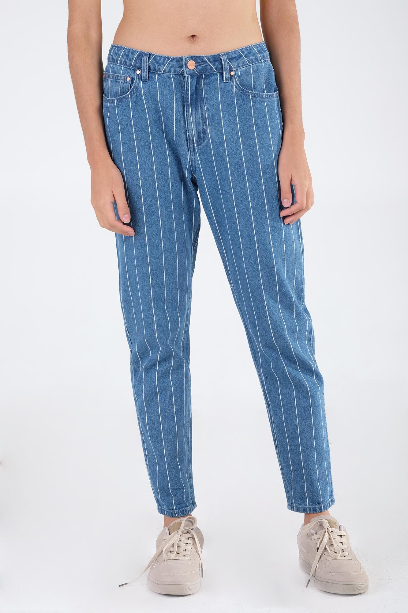 Penshoppe Jeans For Women Philippines Fashion Vintage Skin Rip Off Stretch Soft Slim In Medium Wash Blue