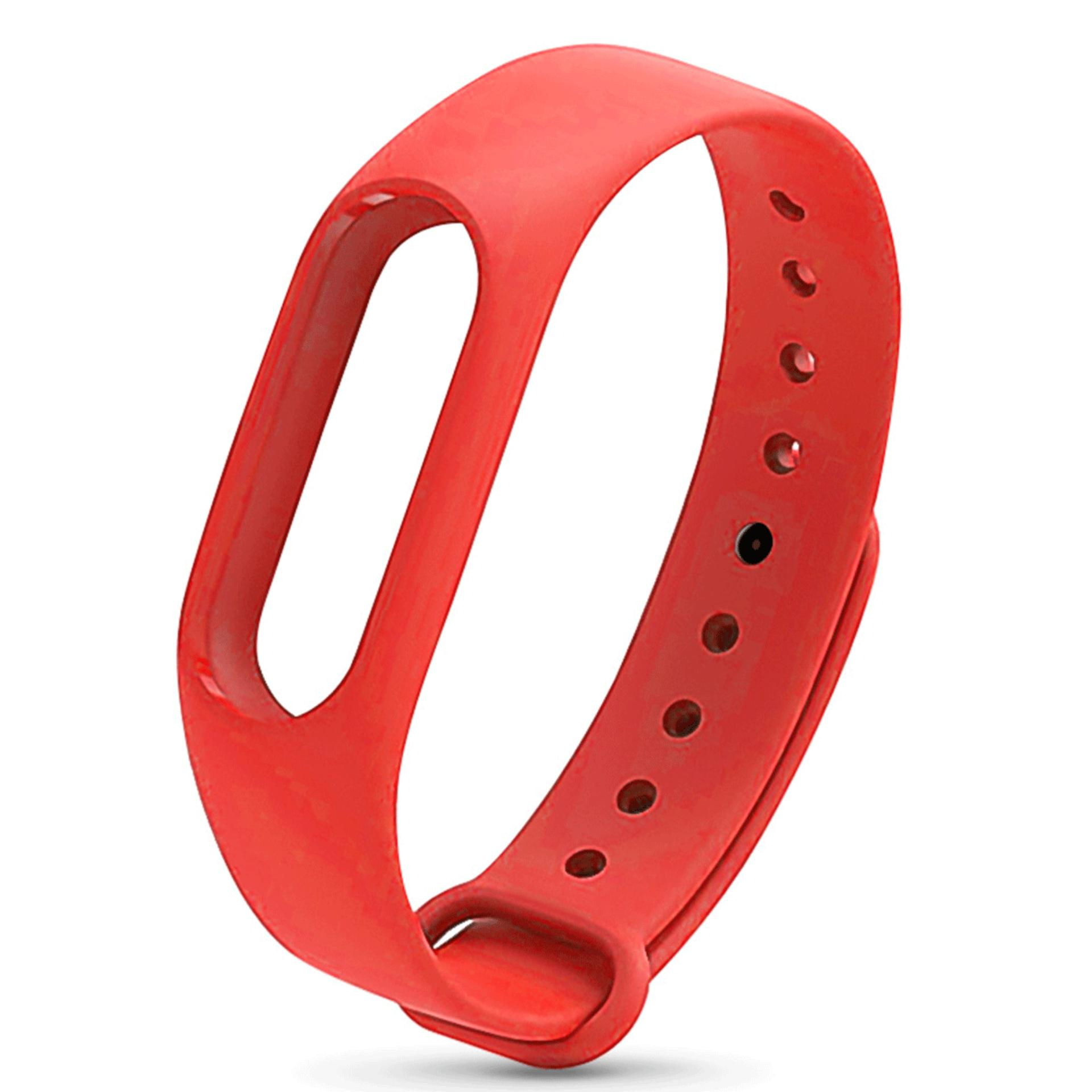 Xiaomi Mi Band 2 Replacement Jelly Watch Band Wrist Strap (Red)