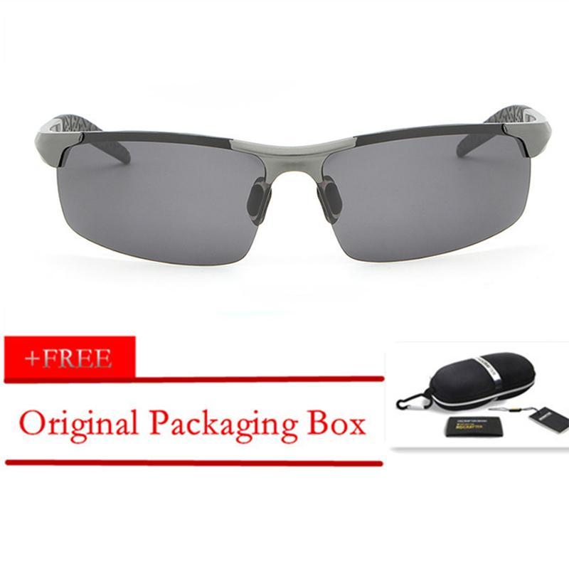 4f04d0a2b0121 HDCRAFTER Original Men Sunglasses Designer Polarized Driving Oculos de sol  masculino Eyewear