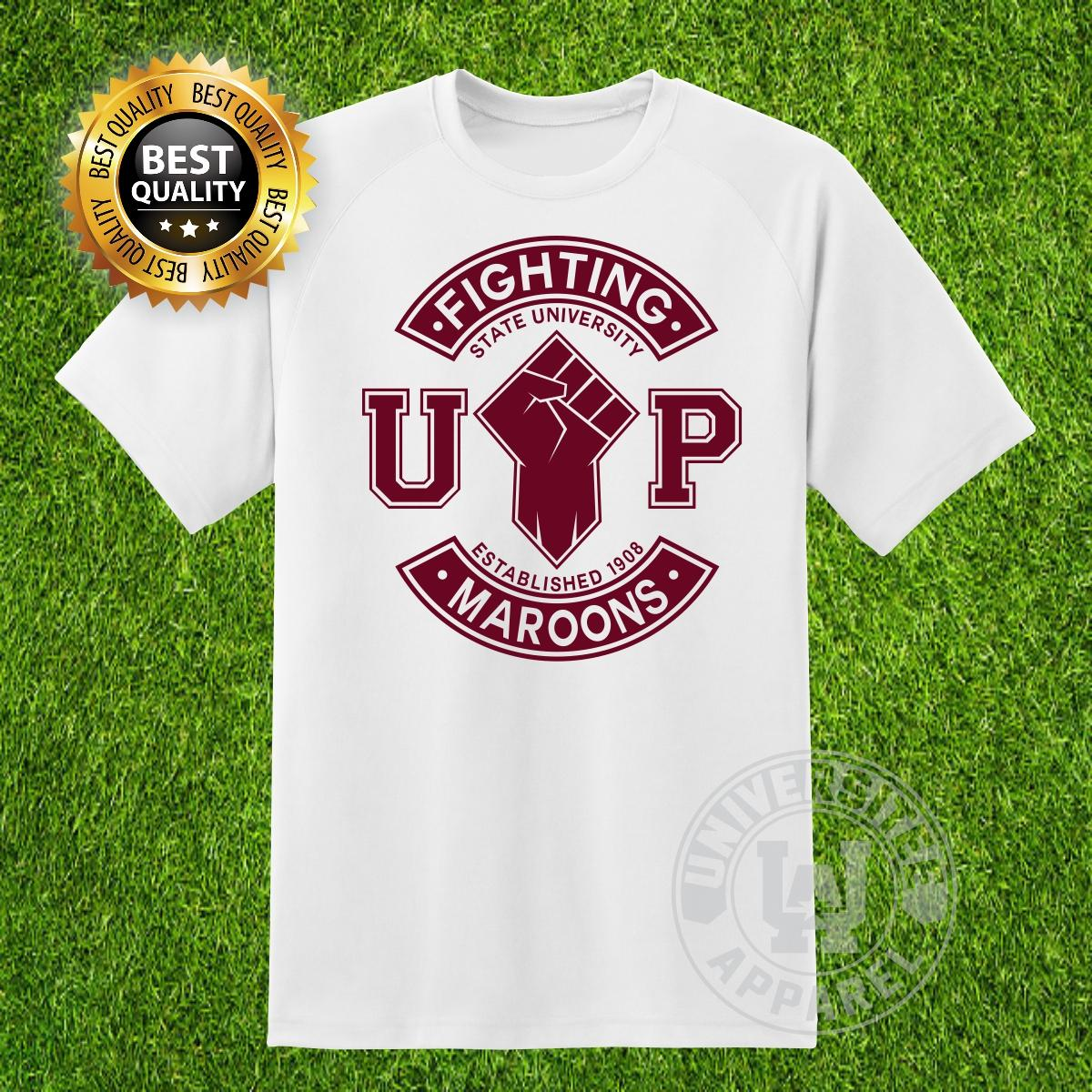 17bc7a40664d UniversiTEE Apparel University Of the Philippines UP Fighting Maroon  Basketball School T Shirt NCAA UAAP