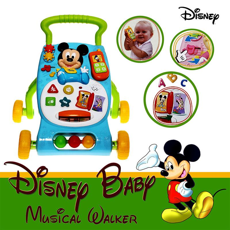 Disney Mickey Mouse Grow-with-me Musical Walker
