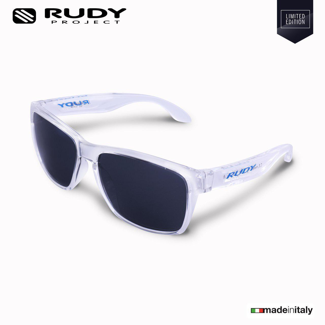 c02b28a4230 Rudy Project Spinhawk Lifestyle Eyewear in Crystal Smoke Lenses  SP311096-0000 (Size 60