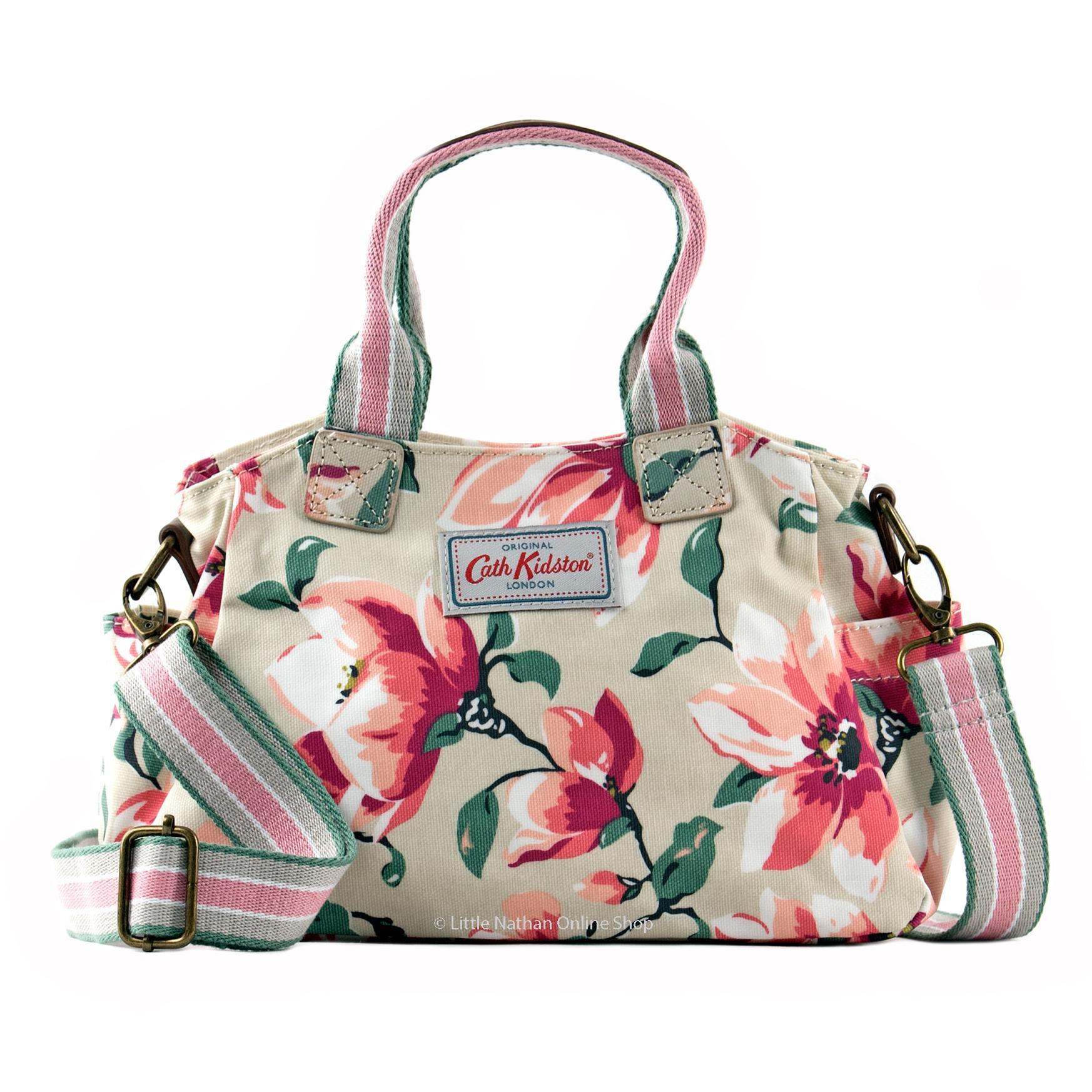 Cath Kidston Mini Day Bag With Cross Body Detachable Strap Magnolia
