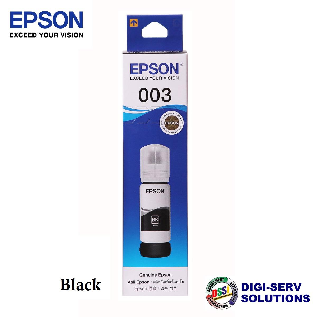 Epson 003 Original Ink Bottle C13T00V for Epson L3110 / L3150