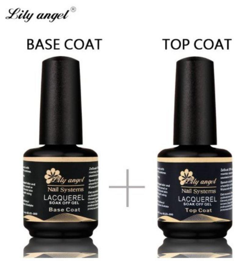 UV/LED SOAK OFF GEL BASE & TOP COAT 15ml Philippines