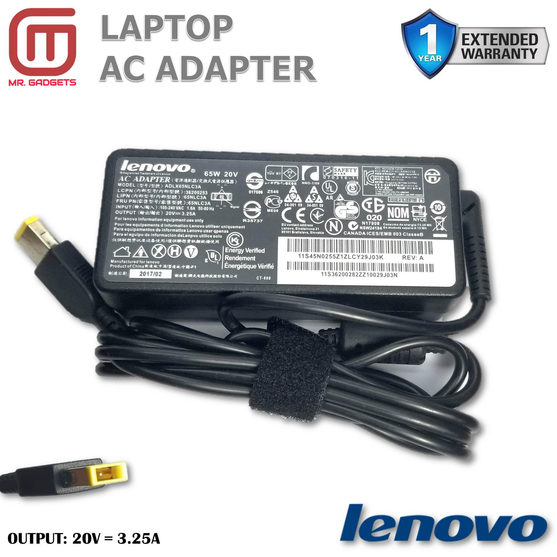 Lenovo Philippines Computer Accessories For Sale Prices Switch Power Laptop G485 Charger Adapter 20v 325a 65w Usb Type 11mm X 50mm