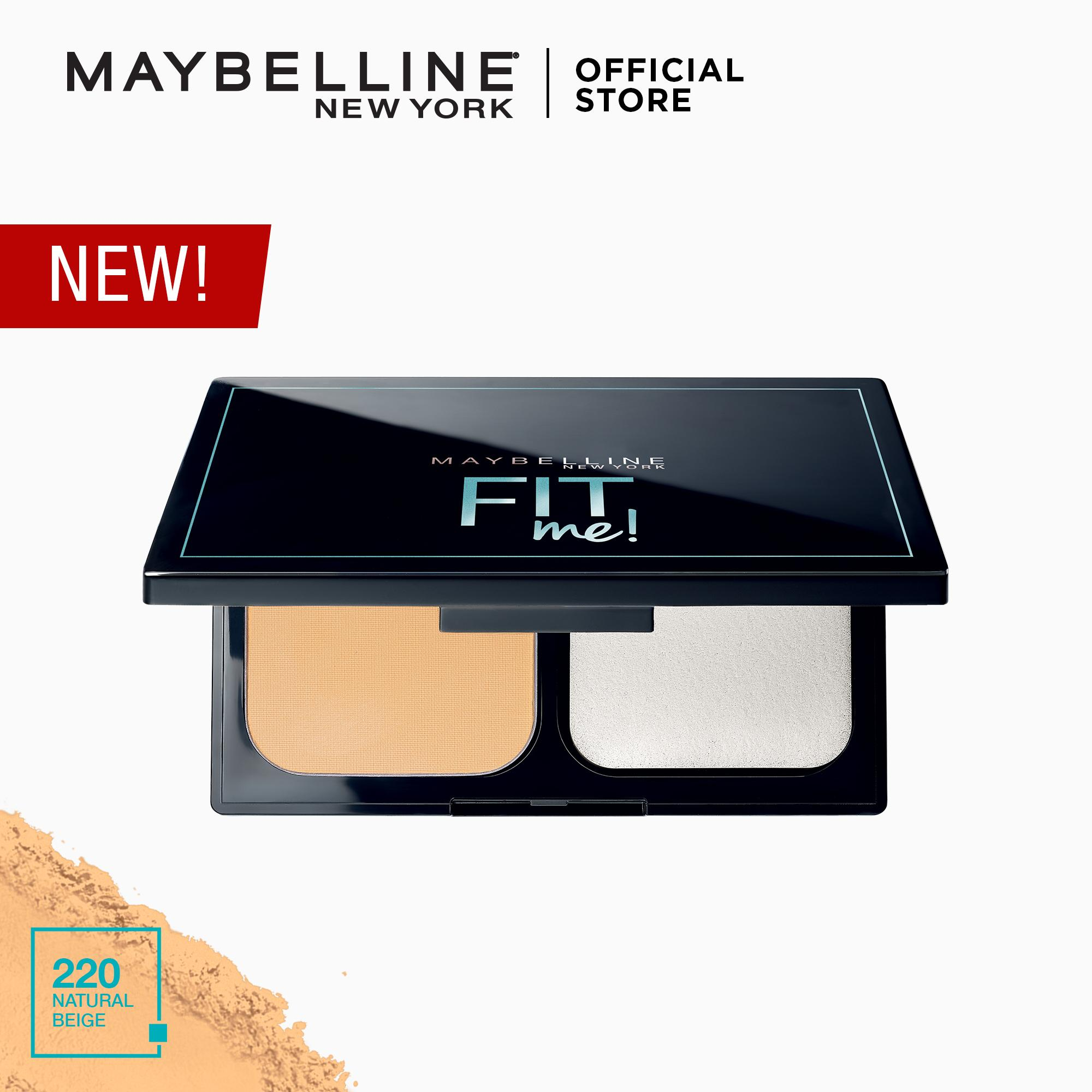 Fit Me Powder Foundation by Maybelline Philippines