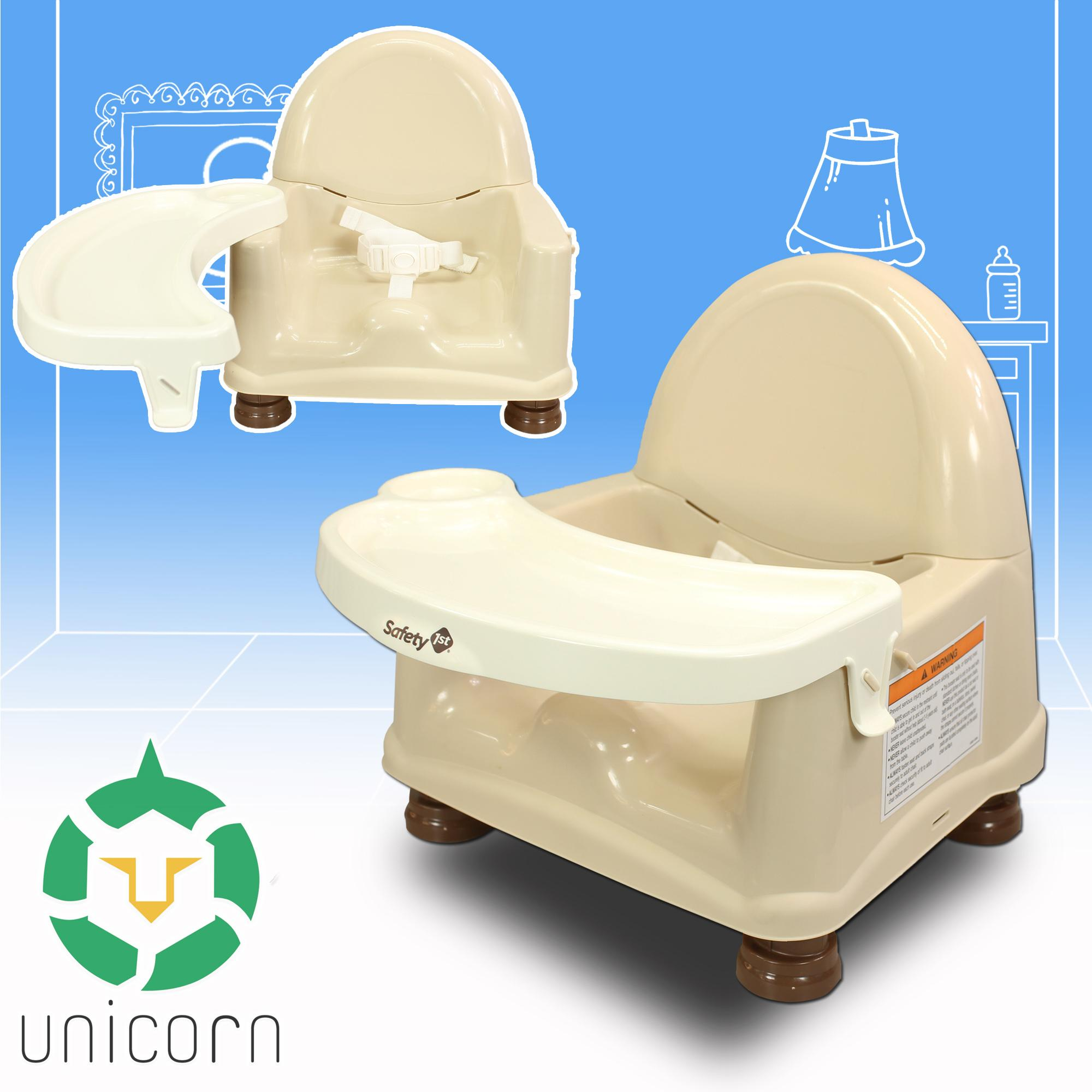 Unicorn Safety First Easy Care Swing Tray Booster Seat Baby Chair