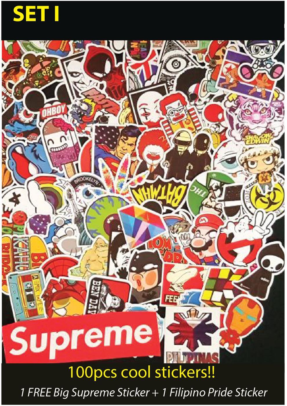 100pcs Kkpia Sticker Bomb Decal Vinyl For Car Laptop Luggages Appliances Unique Sticker Design By Kkpia Store.