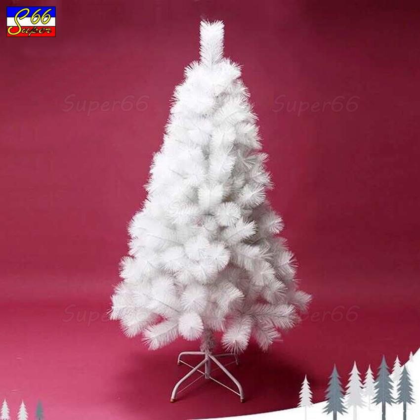 150cm 5ft christmas tree white pine needle xmas tree white