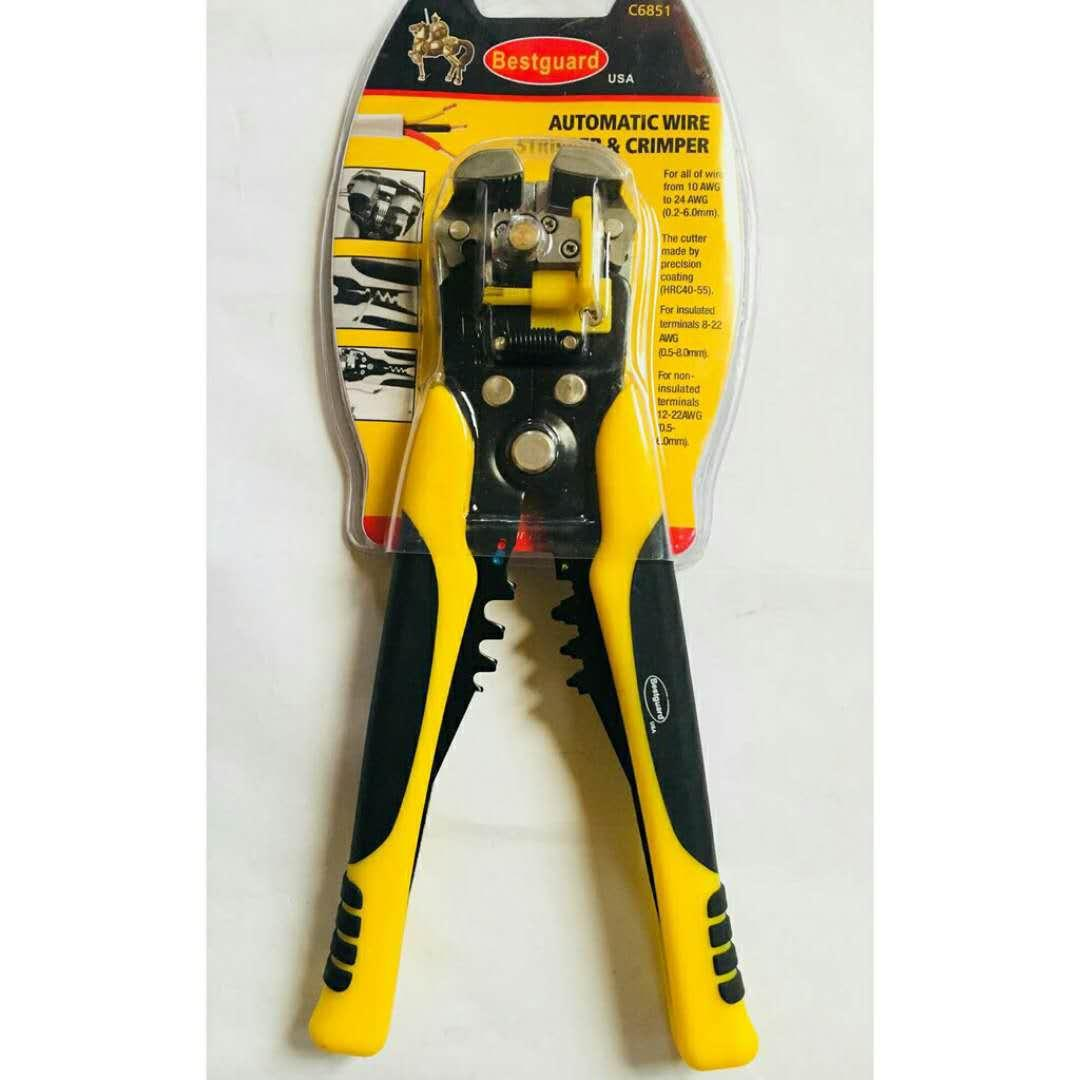 Pliers For Sale Plier Prices Brands Review In Philippines Tang Crimping 3 Hole Bestguard Automatic Wire Stripper Crimper C6851