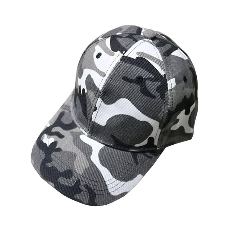 Unisex Men and Women Sun Protection Adjustable Camouflage Baseball Cap Hat c5475fd0b133