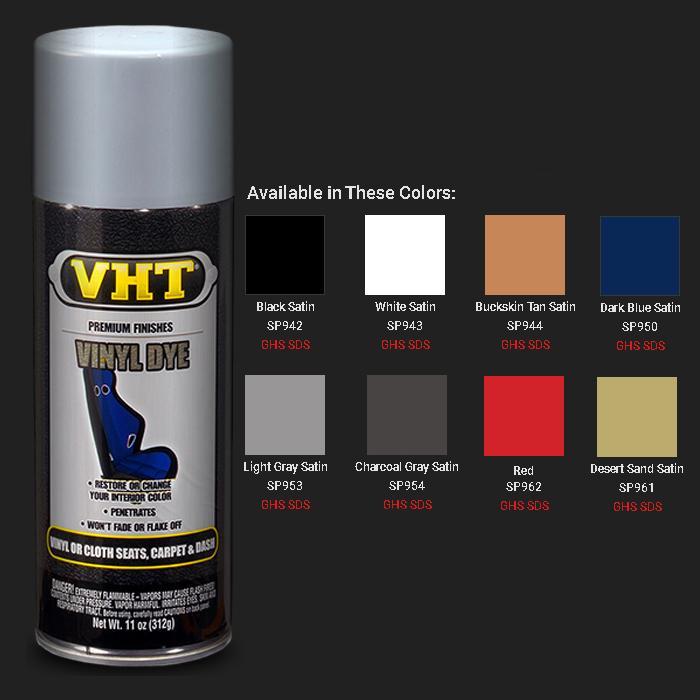 VHT Vinyl Dye Spray Paint