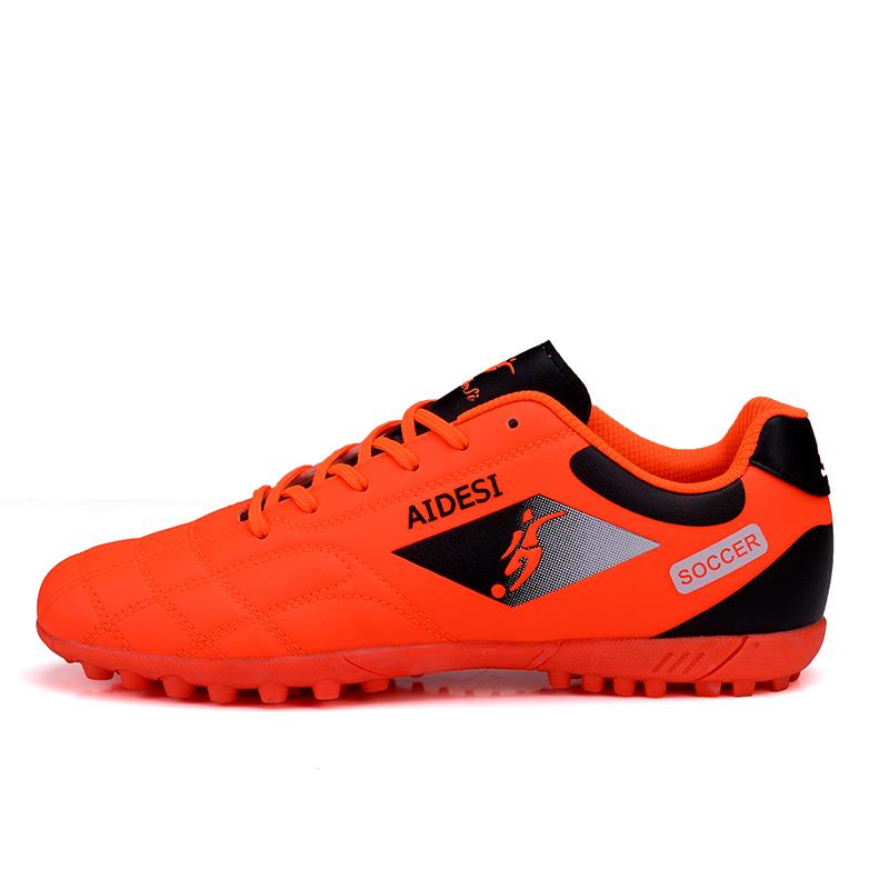 6e8b4593072d Men s Classic Football Shoes Low Upper 4Colors Futsal Shoes High Quality  Men Sports Training Shoes New