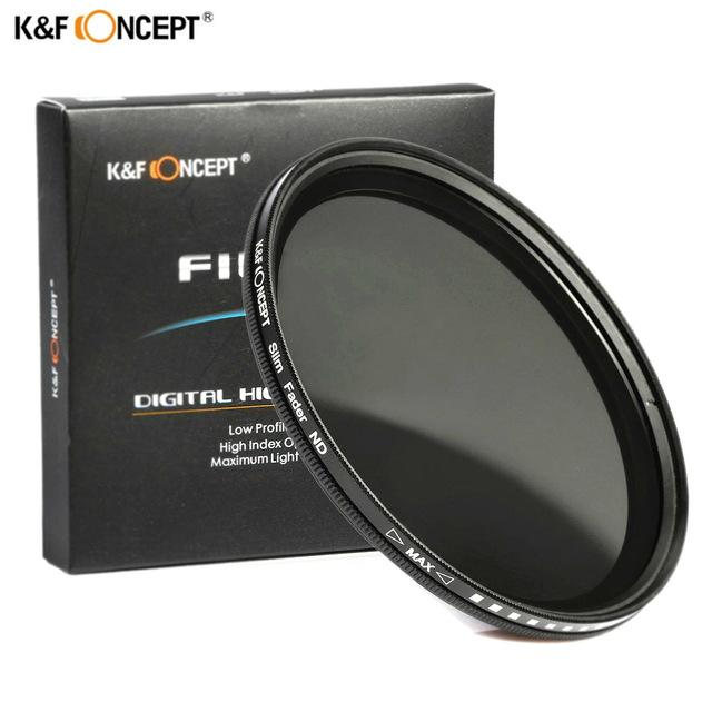 K&f Concept 49mm Nd2 To Nd400 Variable Nd Fader Filter (lee Photo) By Lee Photo.
