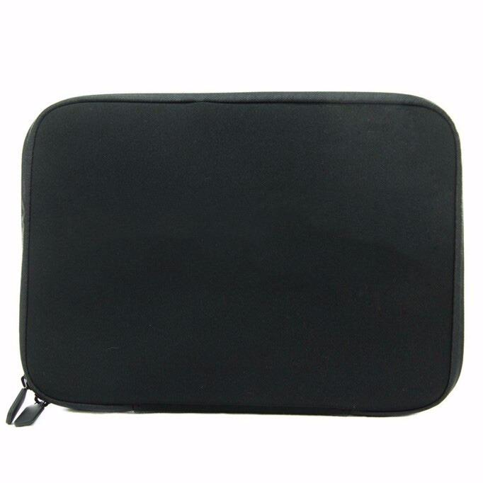 14.6 Inch Laptop Sleeve Case Bag Pouch Black With Zipper By Epower.