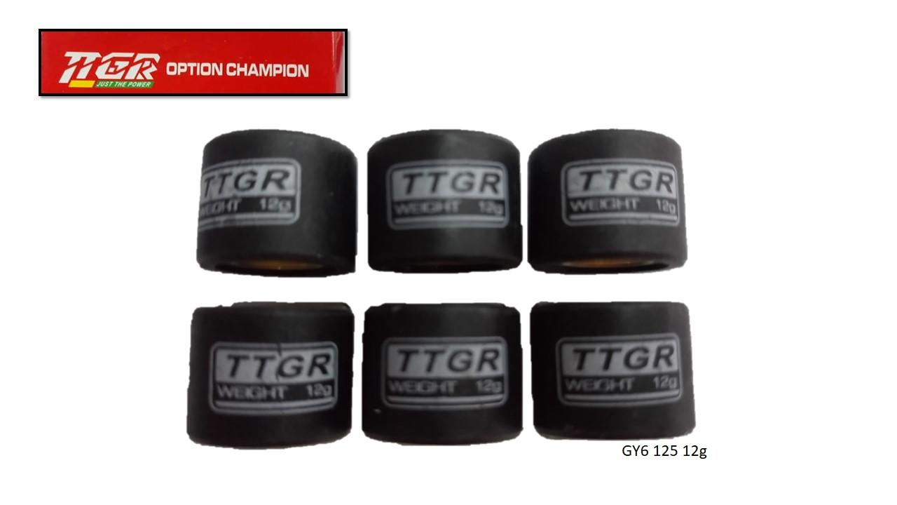 Ttgr Motorcycle Pulley Ball Gy6 125 12g (6 Pcs) By Mixies Shoppers Center.