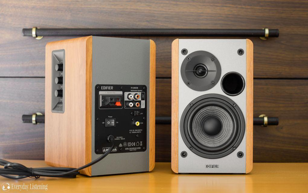 Edifier R1280db 2.0ch Bassy Studio With Bluetooth And Remote Multimedia Speaker 42w Rms By Pc Chain.