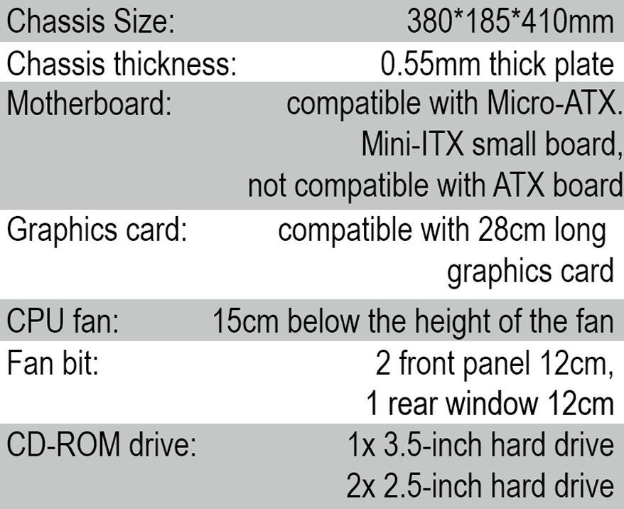Ice Cool CPU Case V (White)