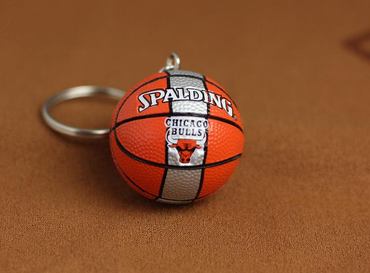 Nba Basketball Team Logo Key Chain Pendant Keychain Keyring Creative Car Key By Red Boxs.