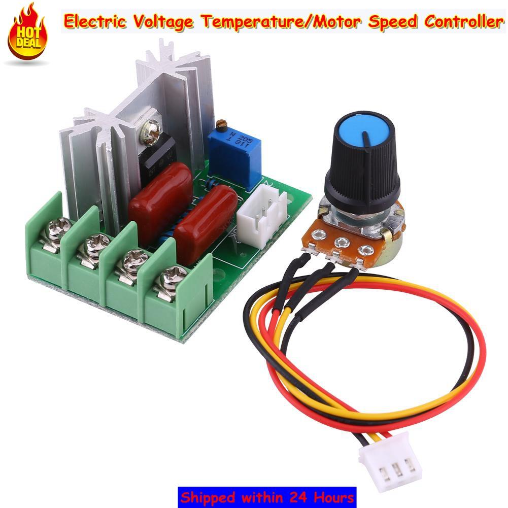 Electric Circuit For Sale Circuitry Prices Brands Review In Toy Car Remote Control Diagram Automotivecircuit Qianmei Ac 50 220v 2000w Scr Voltage Regulator Temperature Motor Speed Controller Light