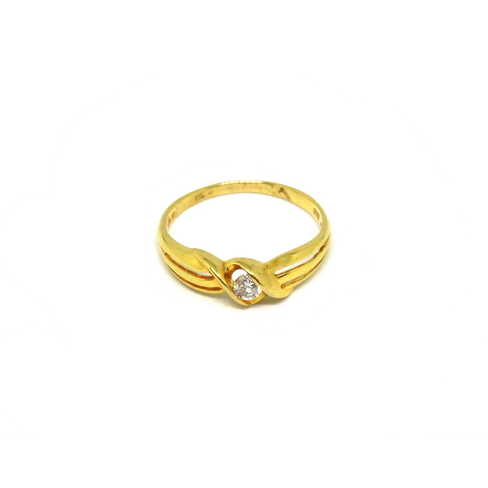 band rings plain bandring sizes wedding gold yellow new solid ring product engagement